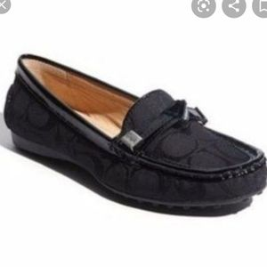 COACH FRIDA DRIVER MOCCASINS LOAFERS 5B